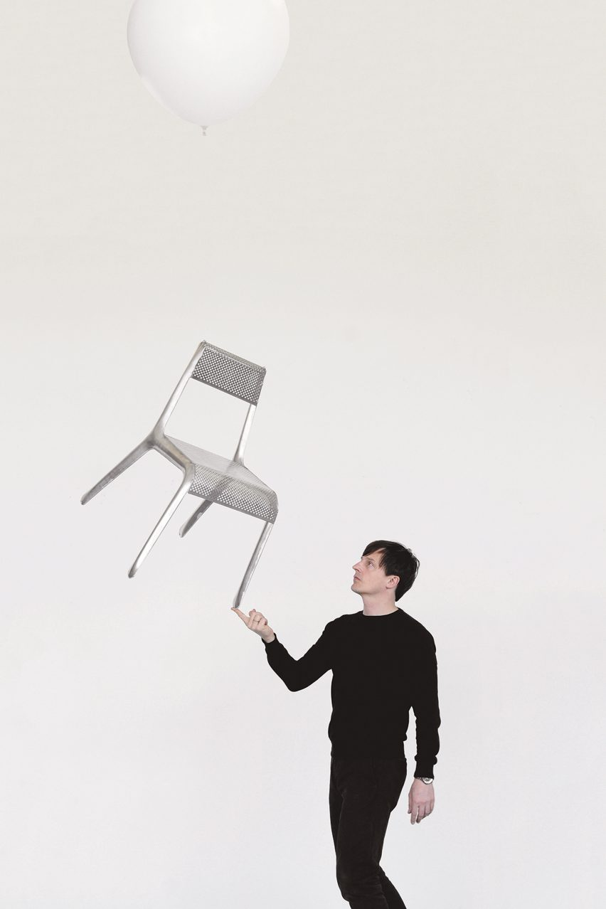 Oskar Zieta and the Ultraleggera chair