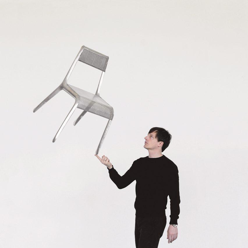 Oskar Zieta and the Ultraleggera chair