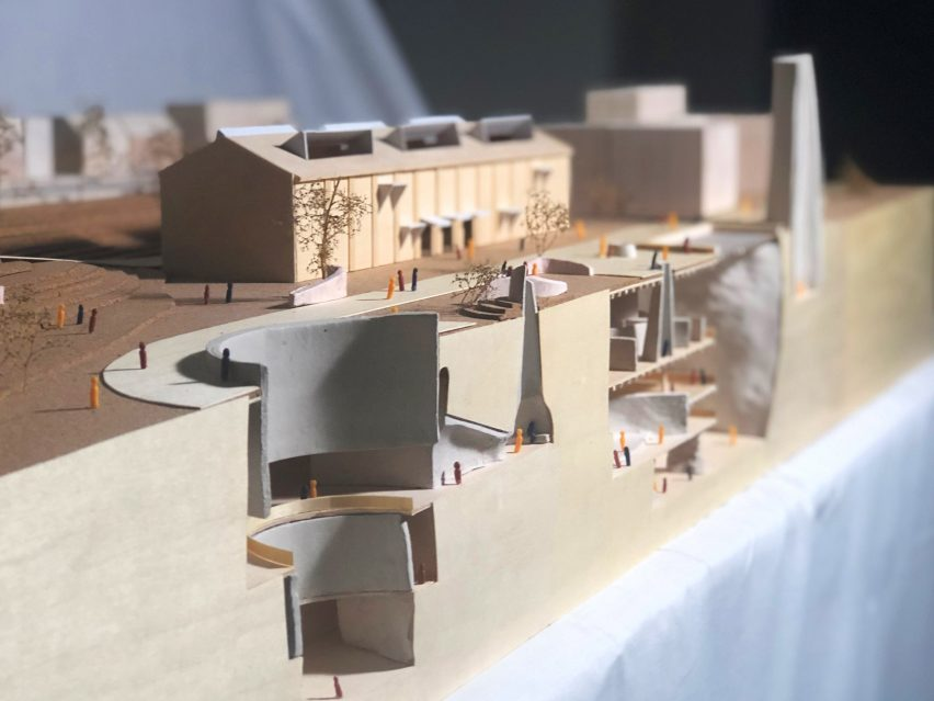 A sectional model by UNSW Sydney student Sarah MacDonald