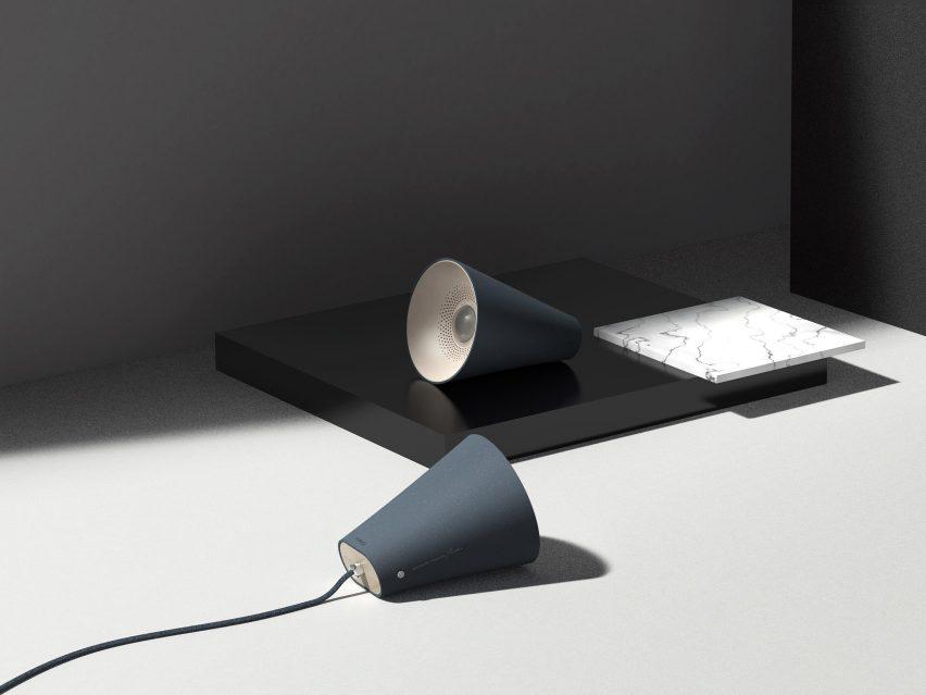 The 01 lamp by UNSW Sydney student Jiachen Liu