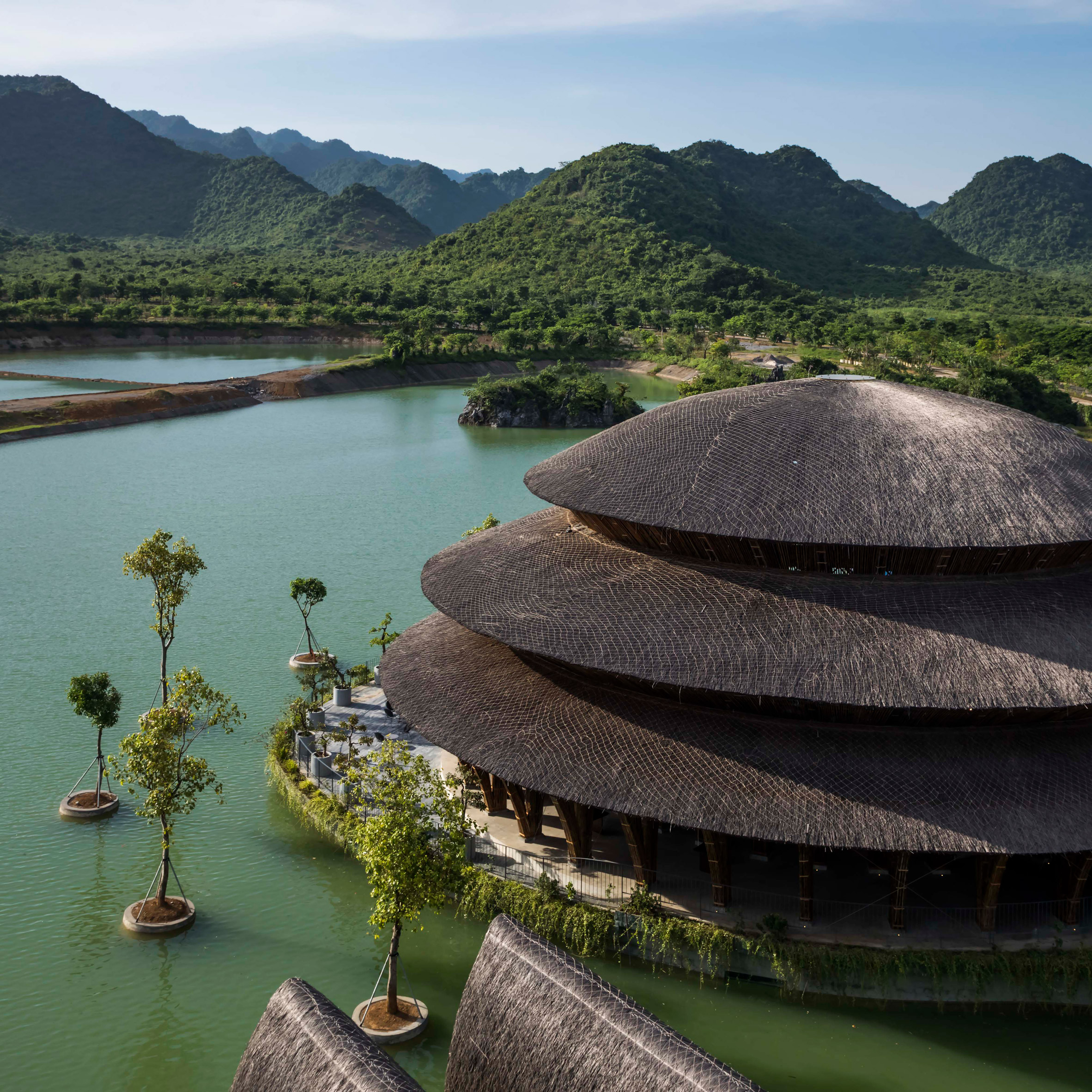 Vedana Restaurant by Vo Trong Nghia Architects