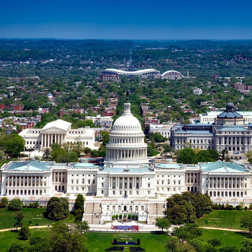 The Capitol in Washington DC is an example of neoclassical architecture
