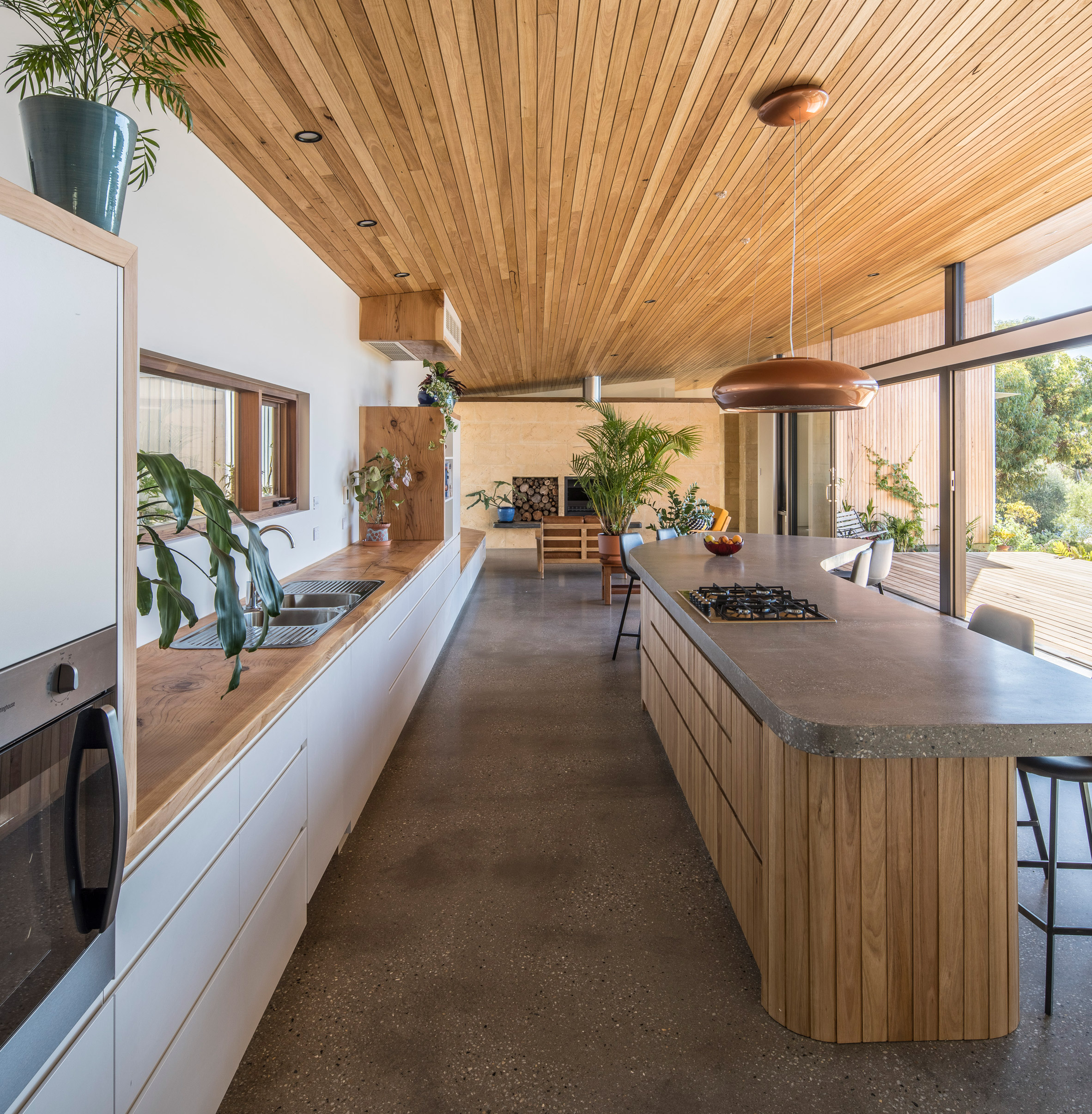 Kitchen of Willunga House by Reuben French-Kennedy
