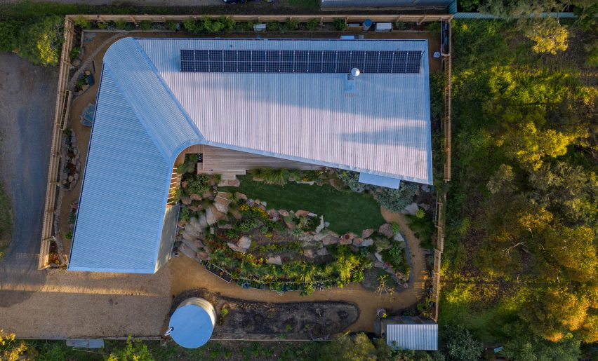 Aerial view of Willunga House by Reuben French-Kennedy