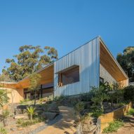 Willunga House is a retirement residence designed around a garden and a view