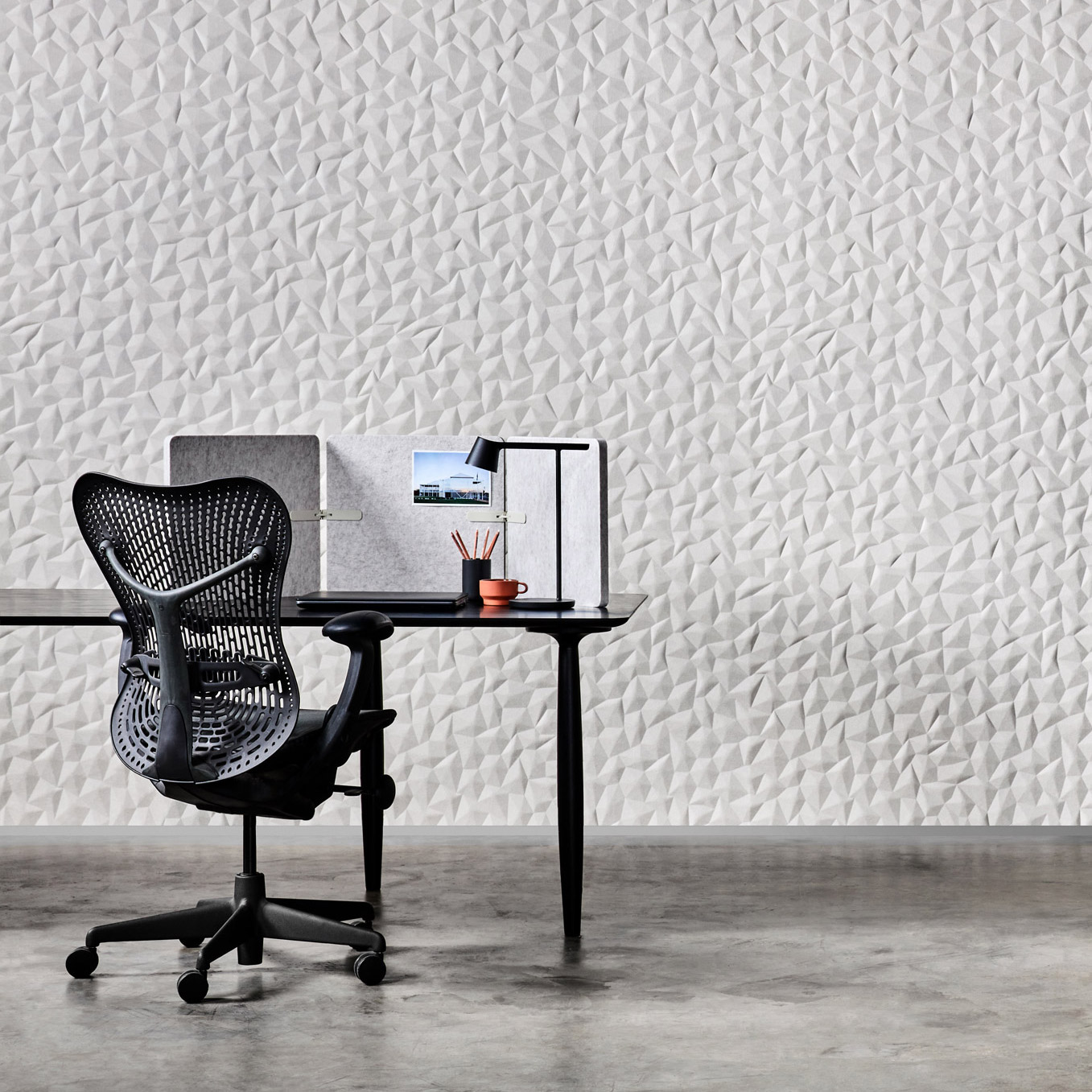 Zen and Ion acoustic wall panels by Woven Image