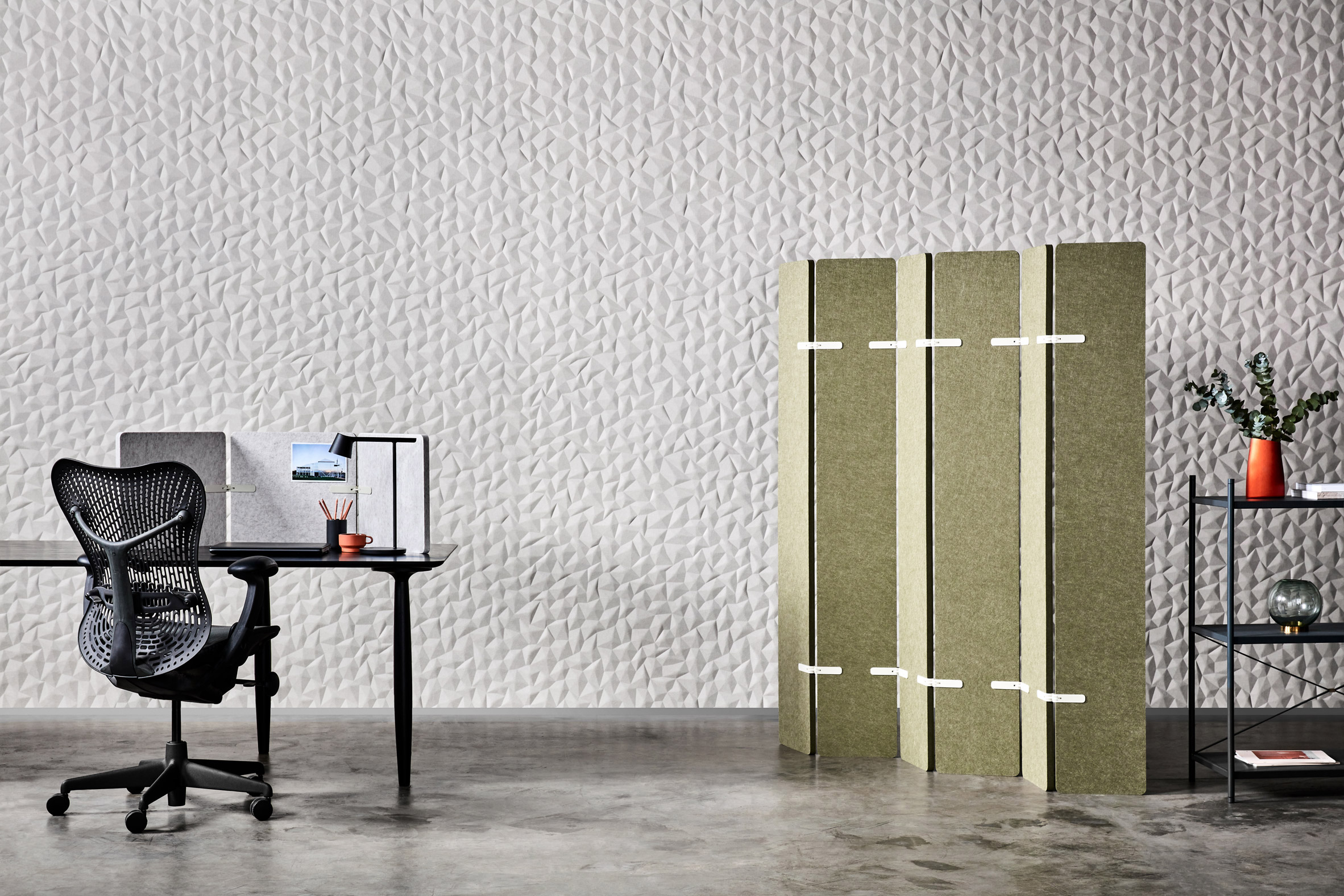 Ion wall panel by Woven Image