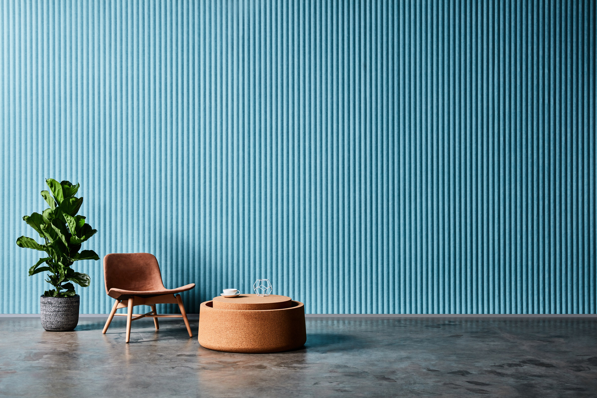 Zen wall panel by Woven Image