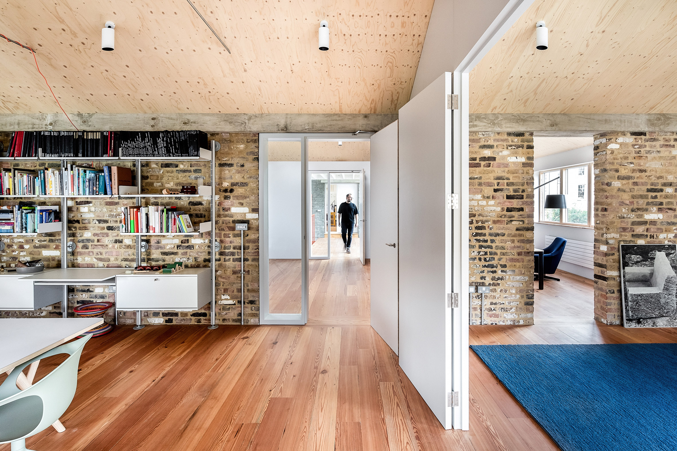 Room in Yorkton Workshops by Pearson Lloyd and Cassion Castle Architects