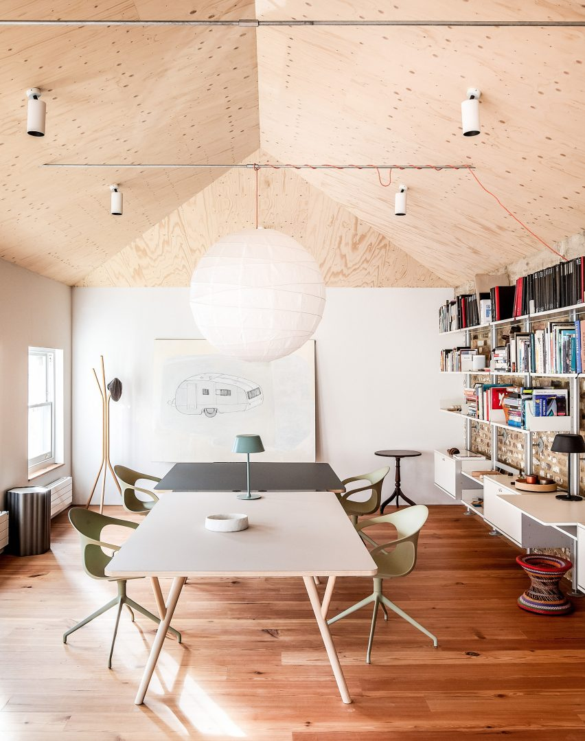 Studio space at Yorkton Workshops by Pearson Lloyd and Cassion Castle Architects