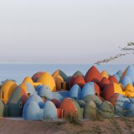 ZAV Architects creates colourful domed cultural retreat on Iranian island of Hormuz