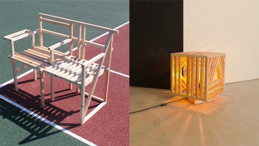 The Norns light by Es Devlin from 19 Chairs project