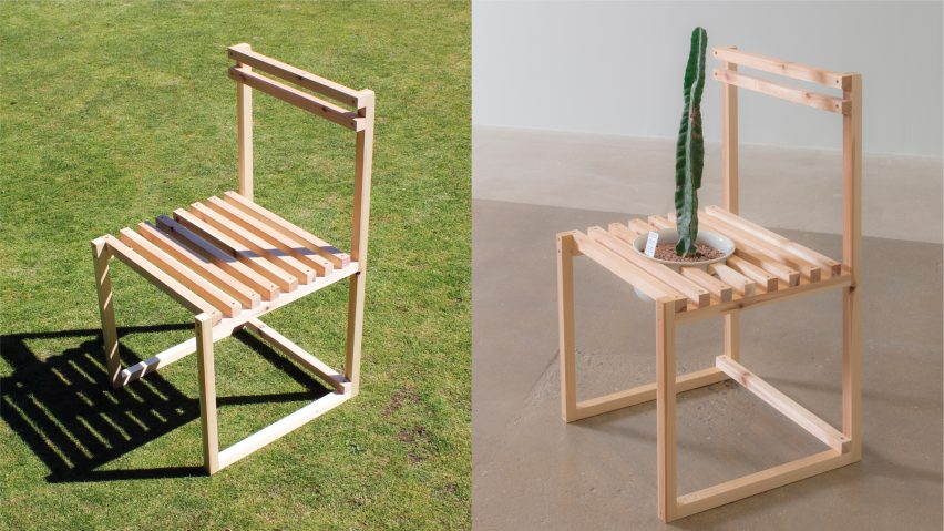 The Commode by Harry Grundy from 19 Chairs project