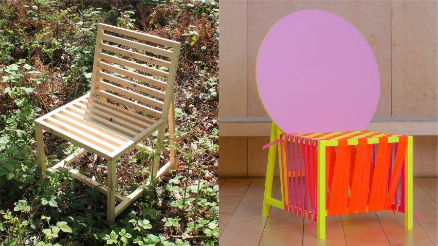 Sun Chair by Morag Myerscough