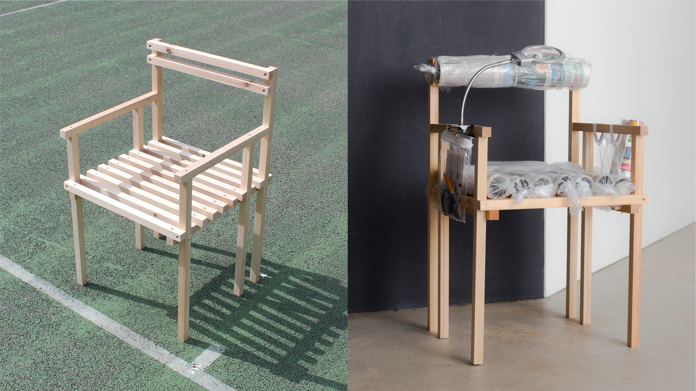 Booster seat by Nicole Mclaughlin from 19 Chairs project