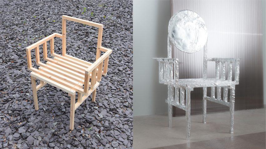 Foil chair by Tom Dixon