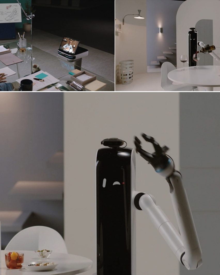 Bot Handy by Samsung assists you with your housework and can bring you a drink, from CES 2021