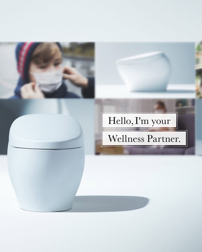TOTO's Wellness Toilet which analyses its users' waste