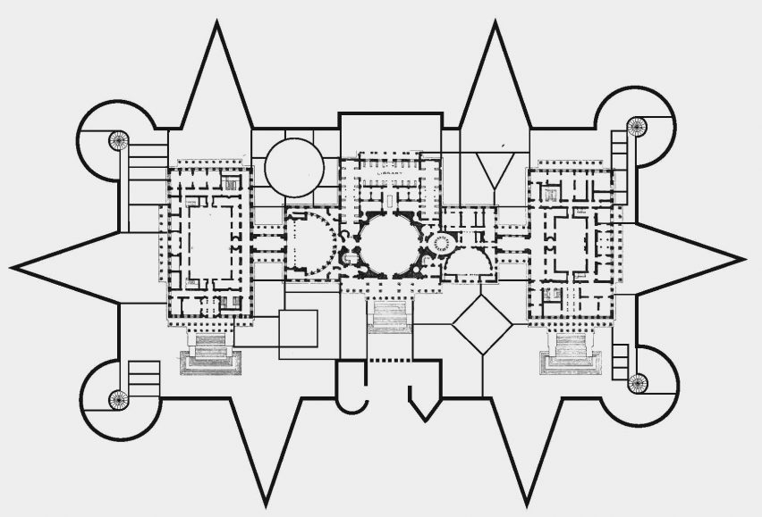 Plan of Capitol Castle