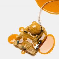 Designers make desktop computers and mice out of honey and ice