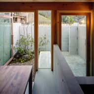 Inside a Japanese house by FujiwaraMuro Architects
