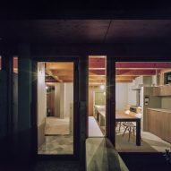 A view inside House in Minoh-Shinmachi by FujiwaraMuro Architects