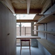 A study inside the House in Minoh-Shinmachi by FujiwaraMuro Architects