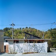 The concrete exterior of a Japanese house by FujiwaraMuro Architects