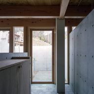 The concrete interiors of a Japanese dwelling by FujiwaraMuro Architects