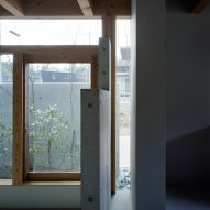 The concrete interiors of House in Minoh-Shinmachi by FujiwaraMuro Architects