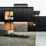 Charred wood clads Meadows Haus in Utah by Klima Architecture