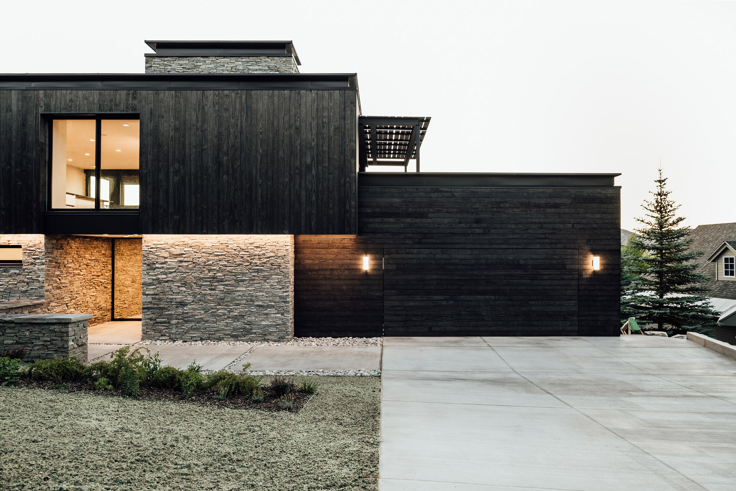 Exterior of Meadows Haus Utah Klima Architecture