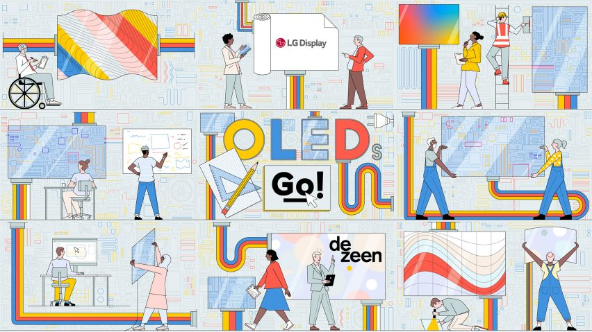 OLEDs Go! competition illustration by Sam Peet