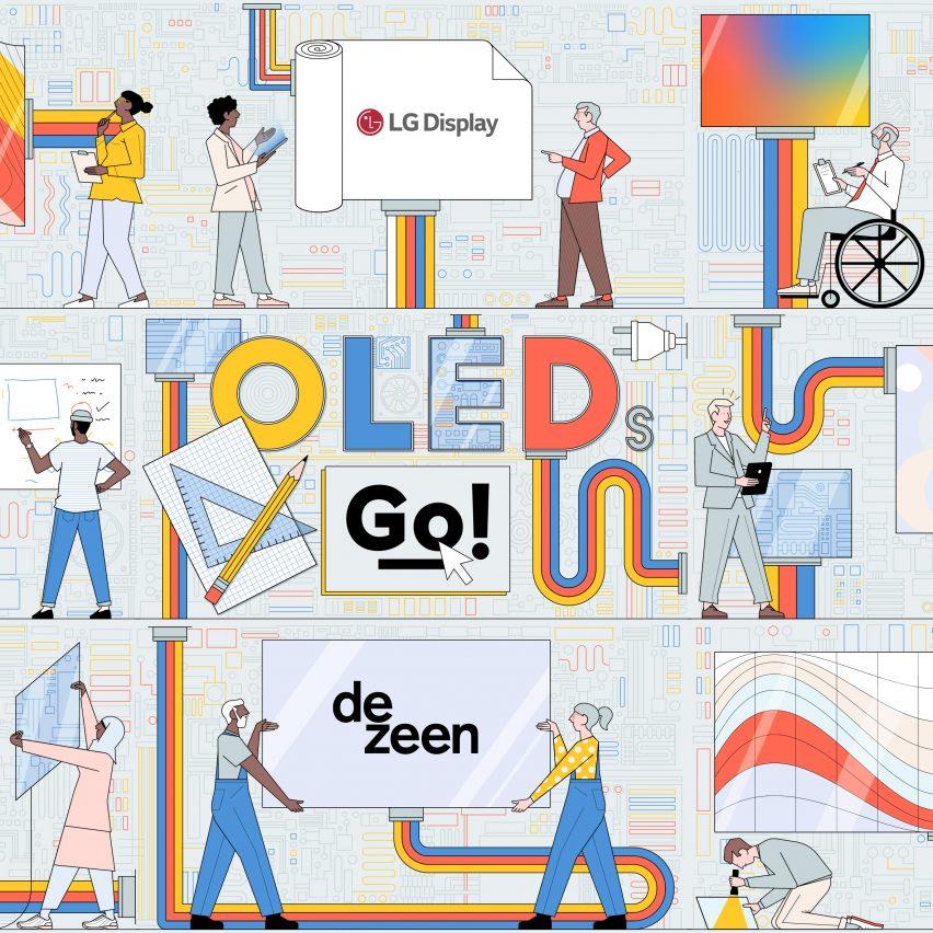 OLEDs Go! competition illustration by Sam Peet