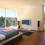 Gerhard Heusch Oak Pass Residence Beverly Hills bedroom