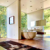 Gerhard Heusch Oak Pass Residence Beverly Hills bathroom