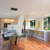 Gerhard Heusch Oak Pass Residence Beverly Hills kitchen