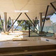 Gerhard Heusch Oak Pass Residence Beverly Hills subterranean extension