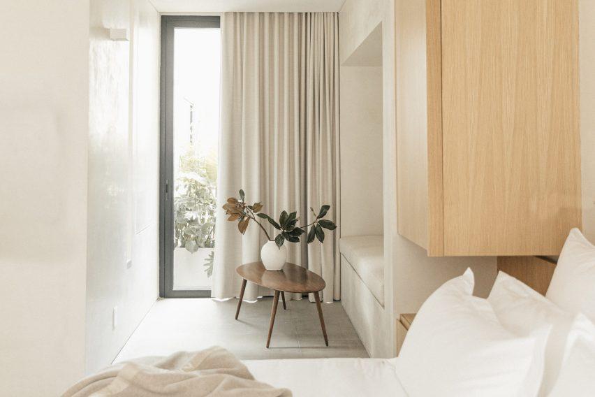 Casa Octavia by PPAA image of the hotel's minimal interiors