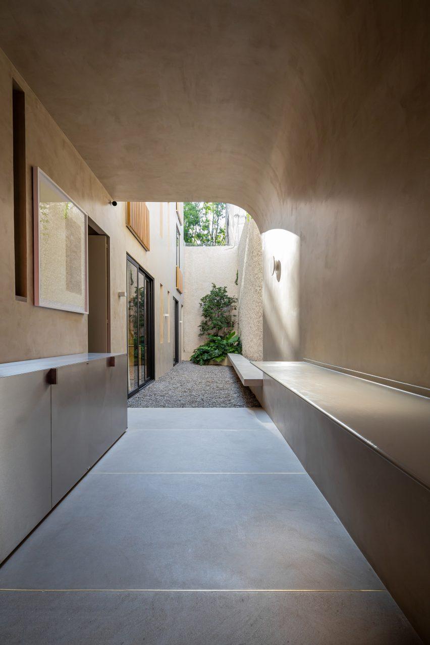 Casa Octavia boutique hotel by PPA side patio