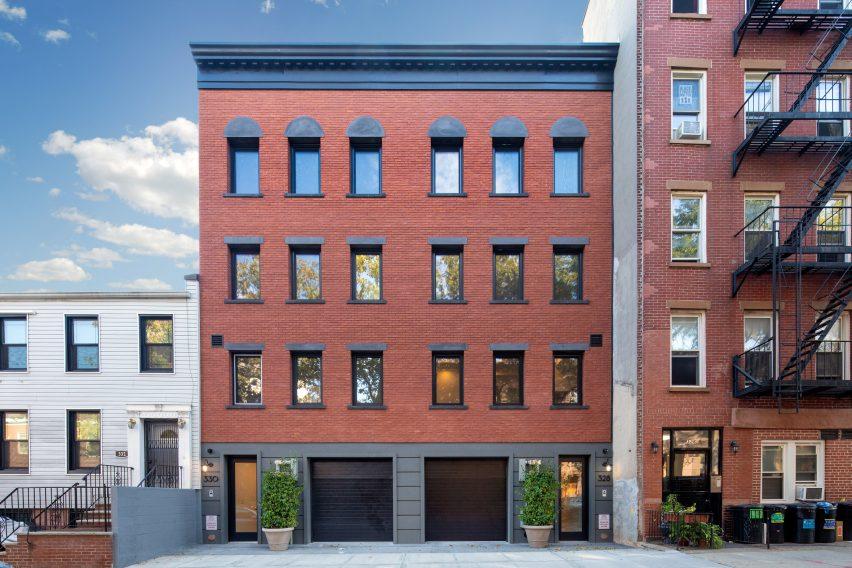 The Brooklyn Home Company Sackett Street townhouse Passivhaus
