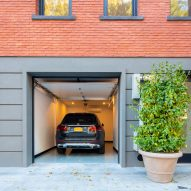 The Brooklyn Home Company Sackett Street Passivhaus drive in garage
