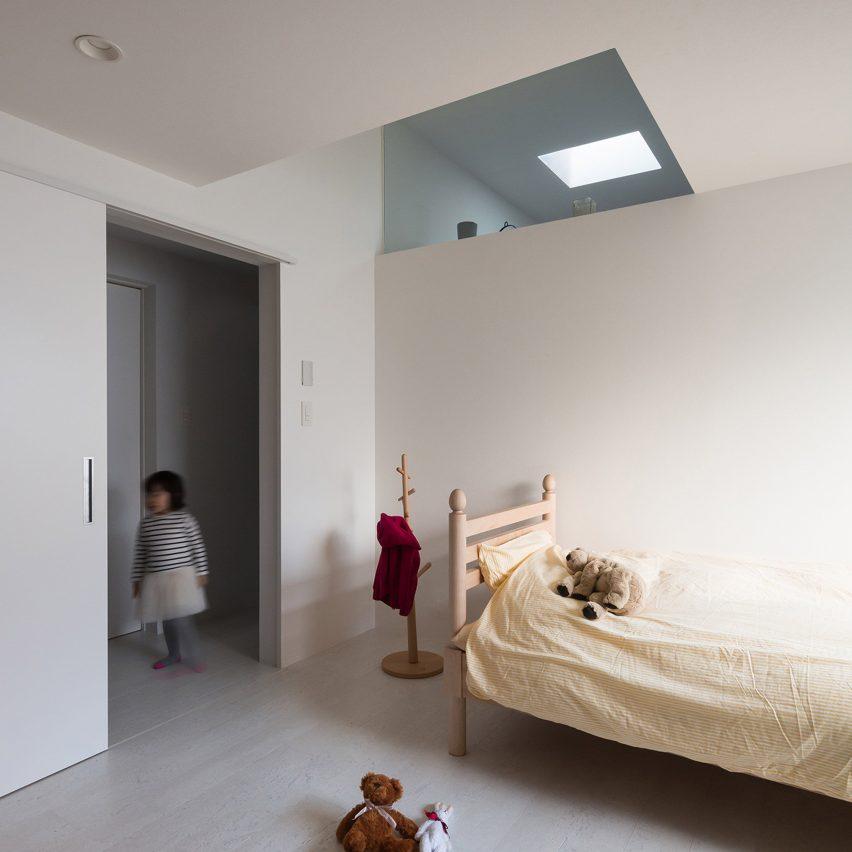 Calm child's bedroom