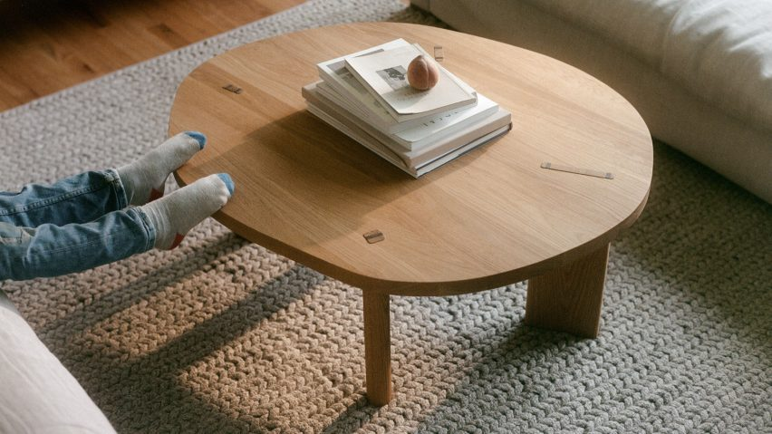 Tenon Table by Akron Street