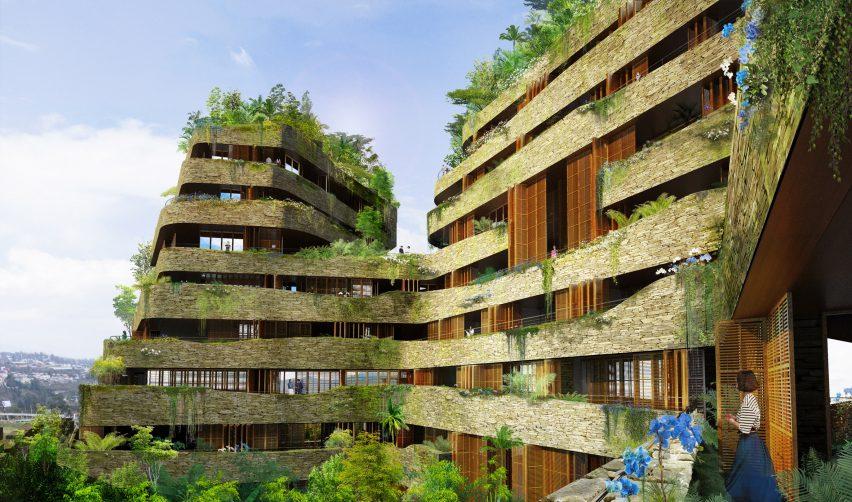 Gardens of Aquarela by Atelier Jean Nouvel
