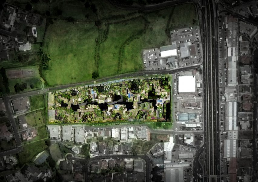 Overhead view of Aquarela by Atelier Jean Nouvel