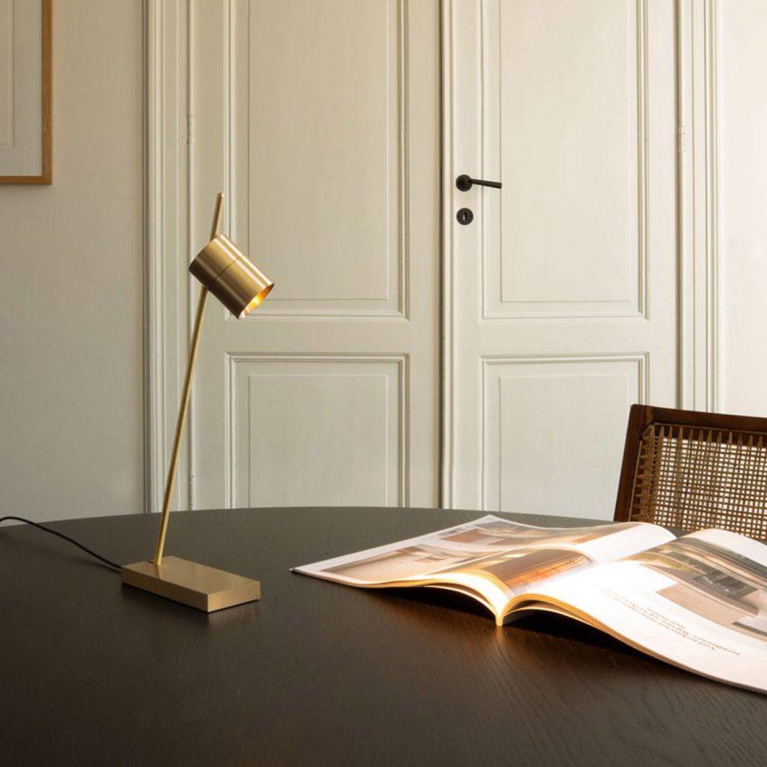Aude table lamp by Bruno van Meenen for Trizo21