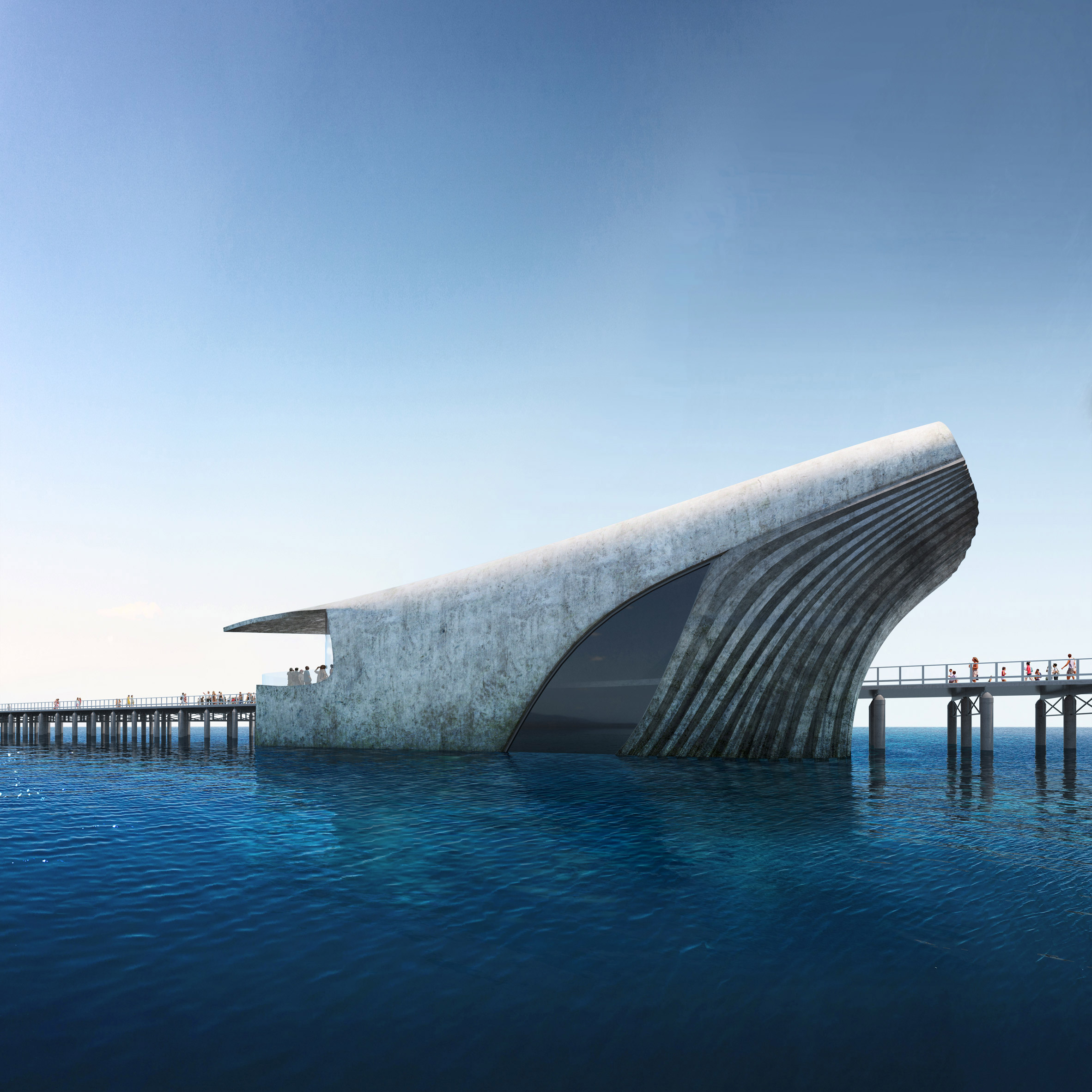 Australian Underwater Discovery Centre by Baca Architects