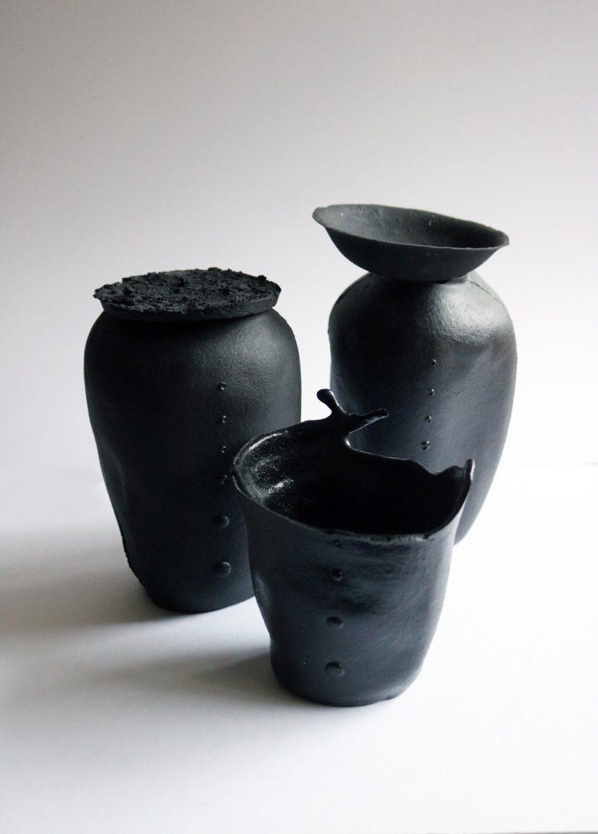 Just Bones vases
