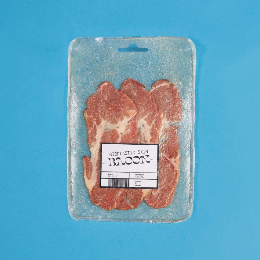 Valdís Steinarsdóttir turns animal skin and bones into food packaging